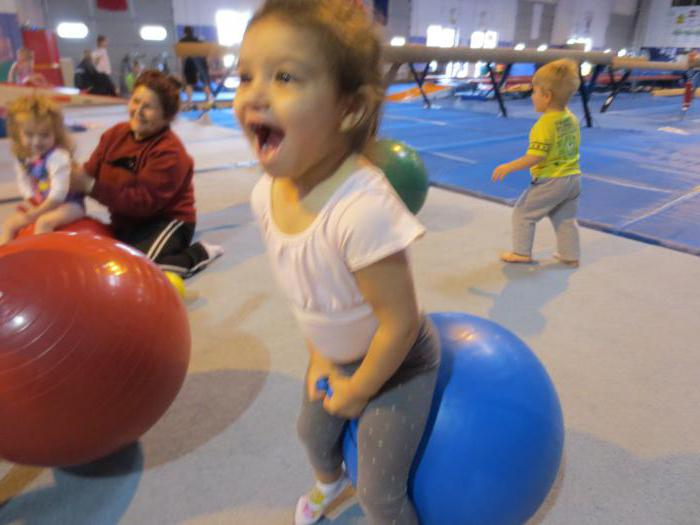 Gymnastics after sleep in the second youngest group