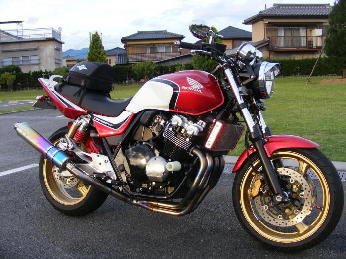 мотоцикл Honda CB 400 sf #10