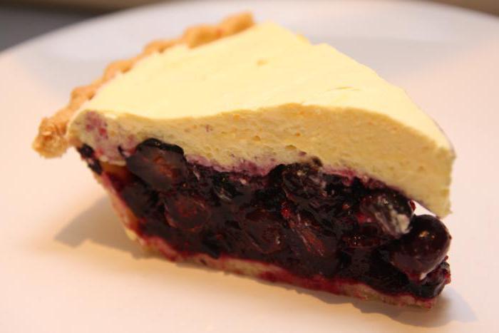 простой ягодный пирог в духовке рецепт