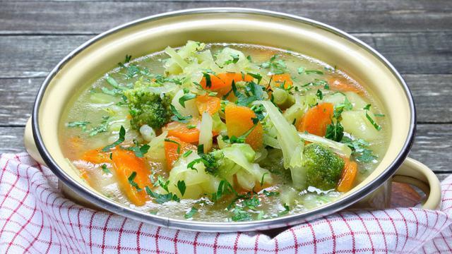 Вкусные щи из свежей капусты с курицей