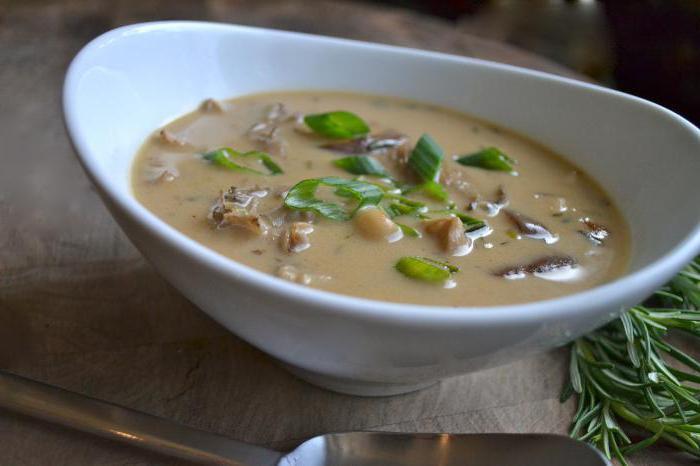 суп из белых грибов и говядины рецепт
