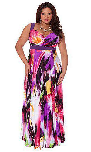 models of summer sundresses for obese women