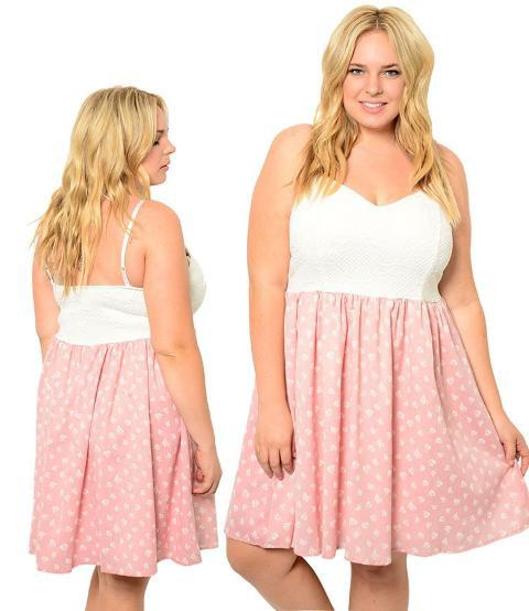 summer sundresses for overweight women