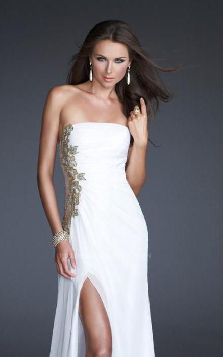 длинные платья в пол (23 изображения