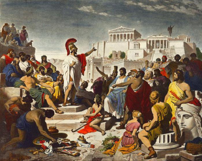 Образование в афинах и спарте