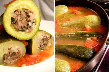 zucchini meat stewed recipes with photos