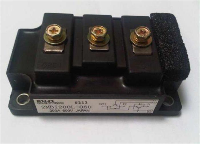 powerful igbt transistors