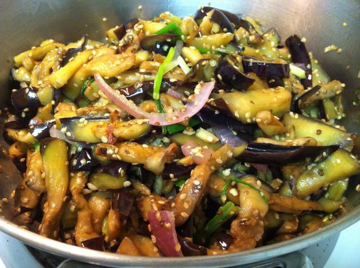 blue Korean recipe