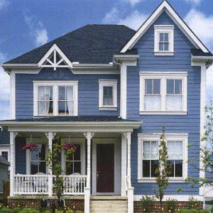 Покраска деревянного дома: чем покрасить деревянный дом