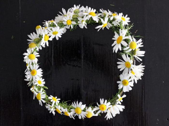 how to weave a wreath of daisies