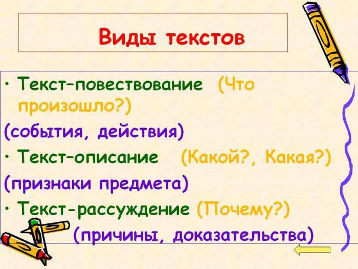 виды прилагательных в русском языке