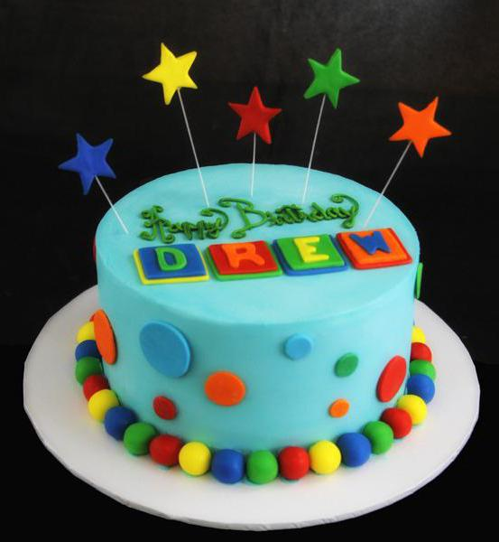 make an inscription on the cake at home
