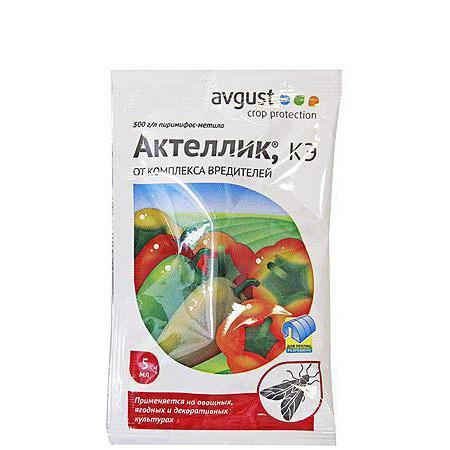 Инсектицид Актеллик Инструкция По Применению - фото 9