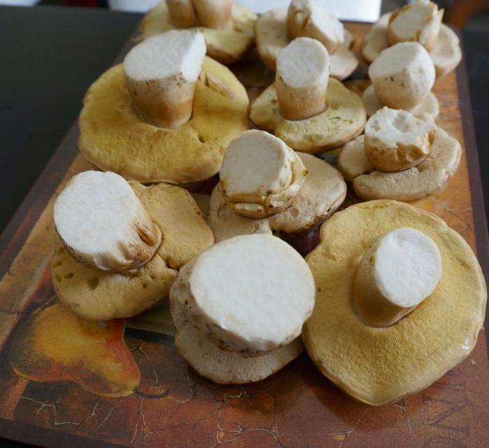 белый гриб как чистить фото