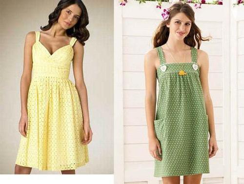 Перешить платья своими руками