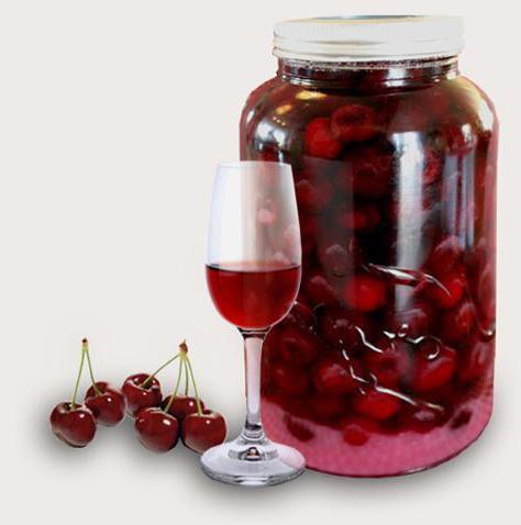 Настойка из вишни на водке простой рецепт