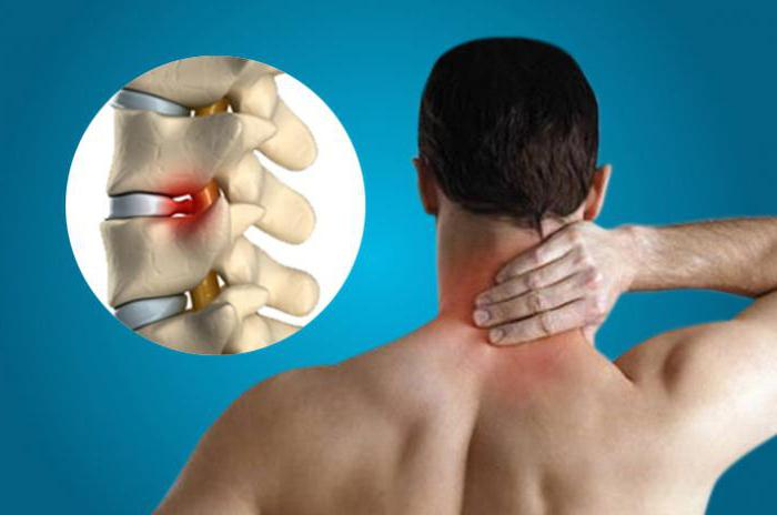 degenerative dystrophic changes of the cervical spine