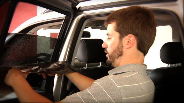 тонировка заднего стекла автомобиля своими руками без фена