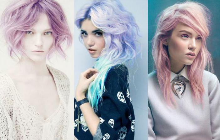 Пастель для окраски волос