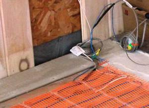 Укладка тёплых электрополов