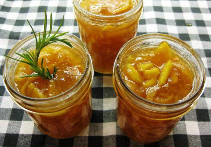 Джем из кабачков с апельсином рецепт