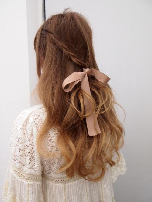 Как правильно плести корзинку на волосах