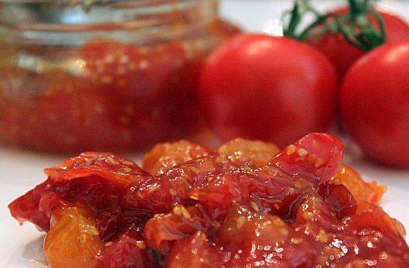 варенье из помидоров рецепт