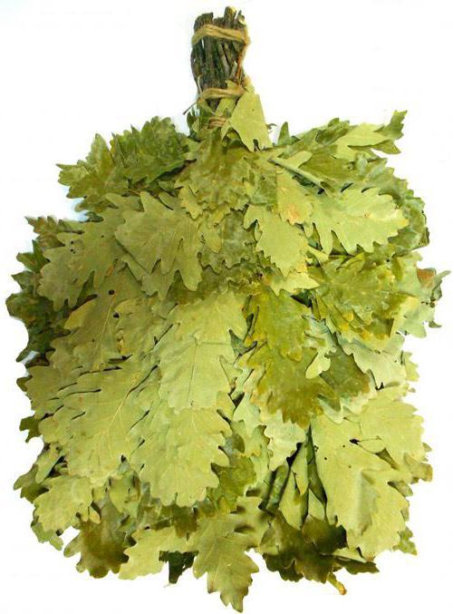 Oak broom