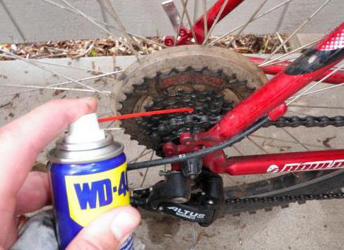 чем нужно смазывать цепь на велосипеде