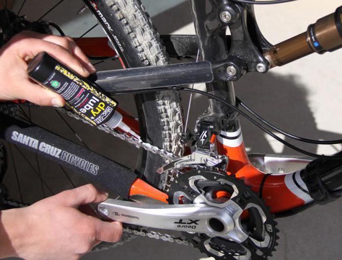 чем смазывать цепь велосипеда солидол