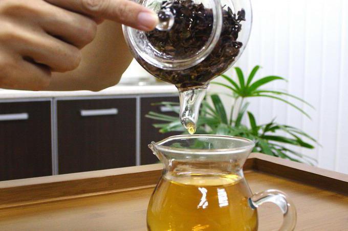 Листья мандарина в чай
