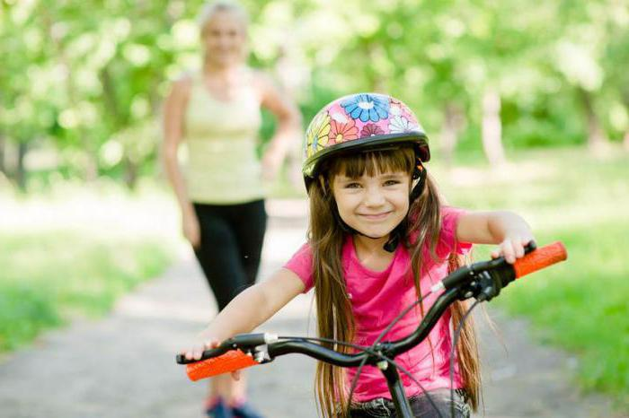 How to teach a child to ride a bike instruction