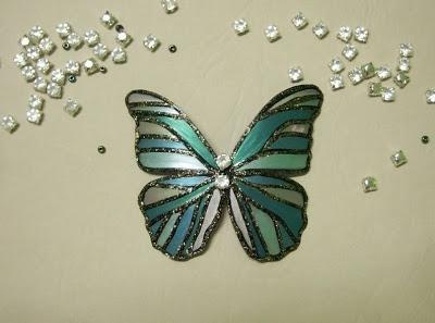 how to make a butterfly from a plastic bottle