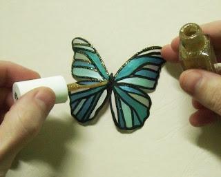 crafts from plastic bottles butterflies