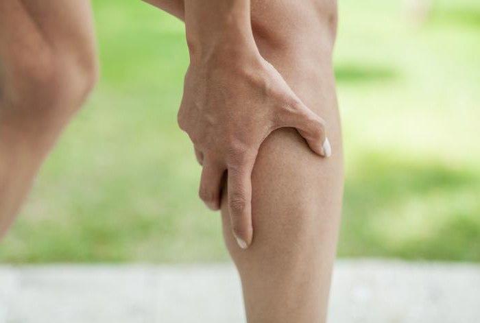 если свело ногу что делать