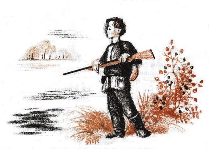 герои васюткино озеро