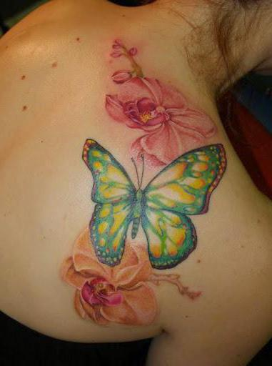 butterfly tattoo which means