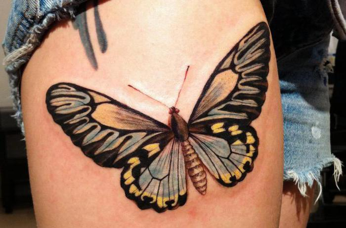 what does butterfly tattoo mean for a girl