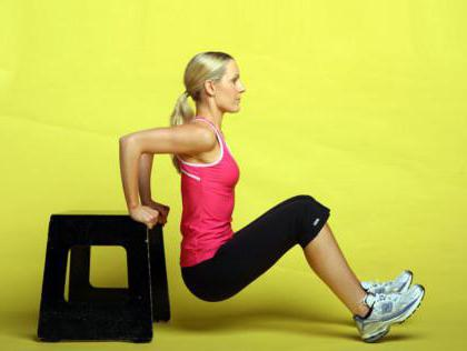 reverse pushups for triceps