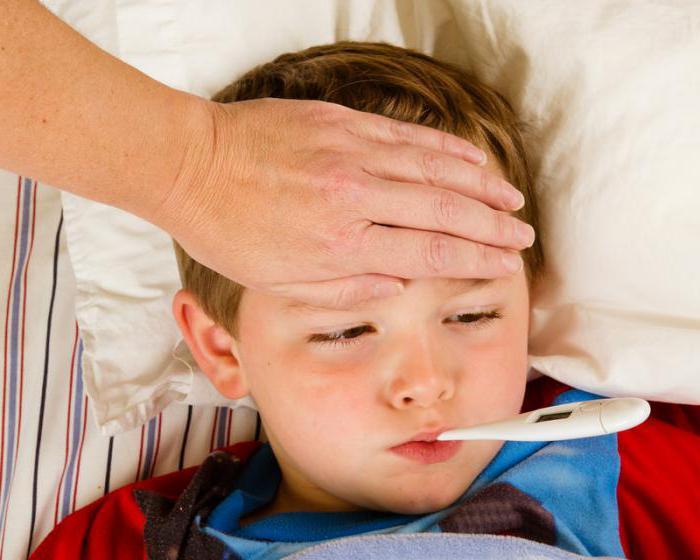 У ребенка болит голова температуры нет