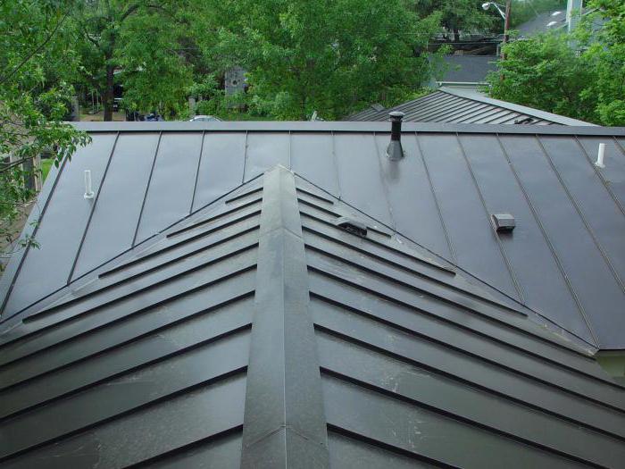 крыша профнастил или металлочерепица