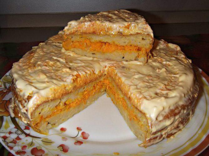 кабачковый торти с мясом
