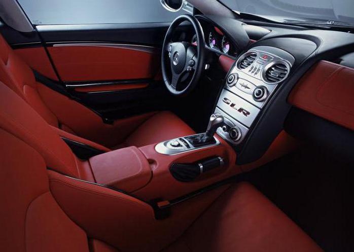 Технические характеристики Mercedes-Benz SLR McLaren. Фото