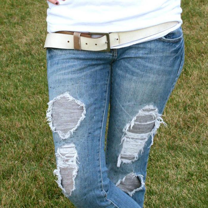 сама врач-косметолог, рваные джинсы своими руками мастер класс фото оставшихся двоих