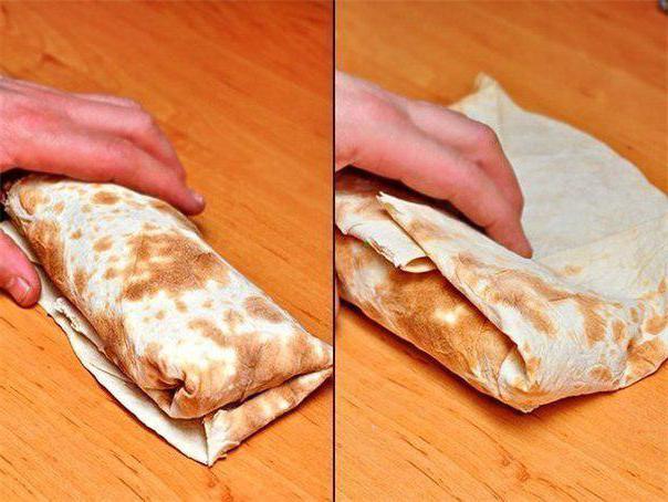 рецепт приготовления дома шаурмы в лаваше