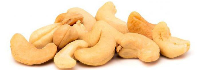 Cashew nuts benefits and harm calorie