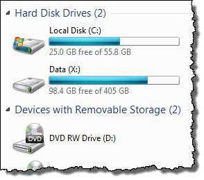 how to increase a disk with