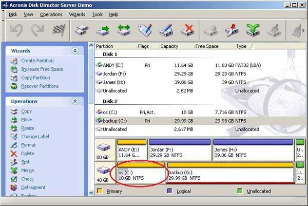 how to increase a disk with due to disk d windows 7 without data loss