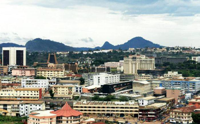 the capital of Cameroon