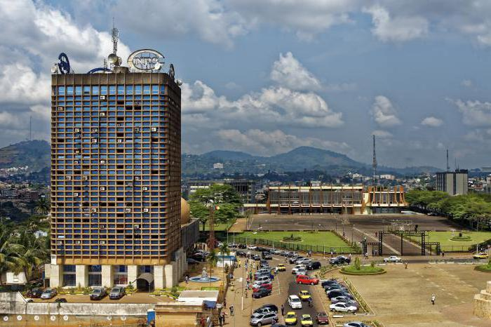 the capital of Cameroon Yaounde
